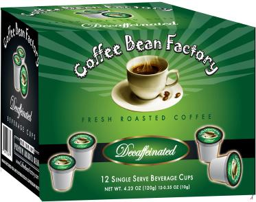 Decaffeinated 12 Count Single Serve Coffee