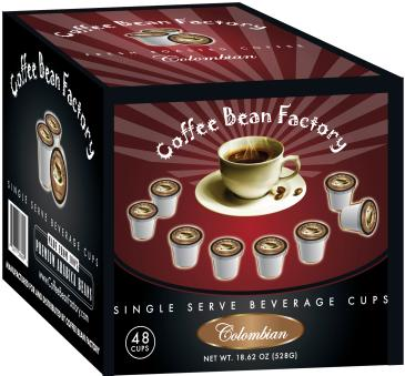 Colombian 48 Count Single Serve Coffee