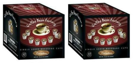 Colombian Fresh Roasted Coffee 96 Count
